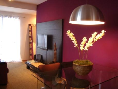 Sala pequena decorada 4