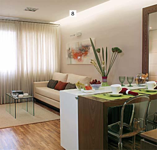 Conforto e personalidade em um apartamento pequeno 5