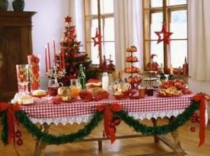 Decoração da mesa de Natal 5