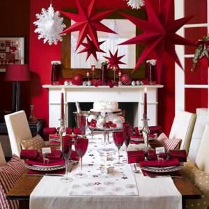 Decoração da mesa de Natal 3
