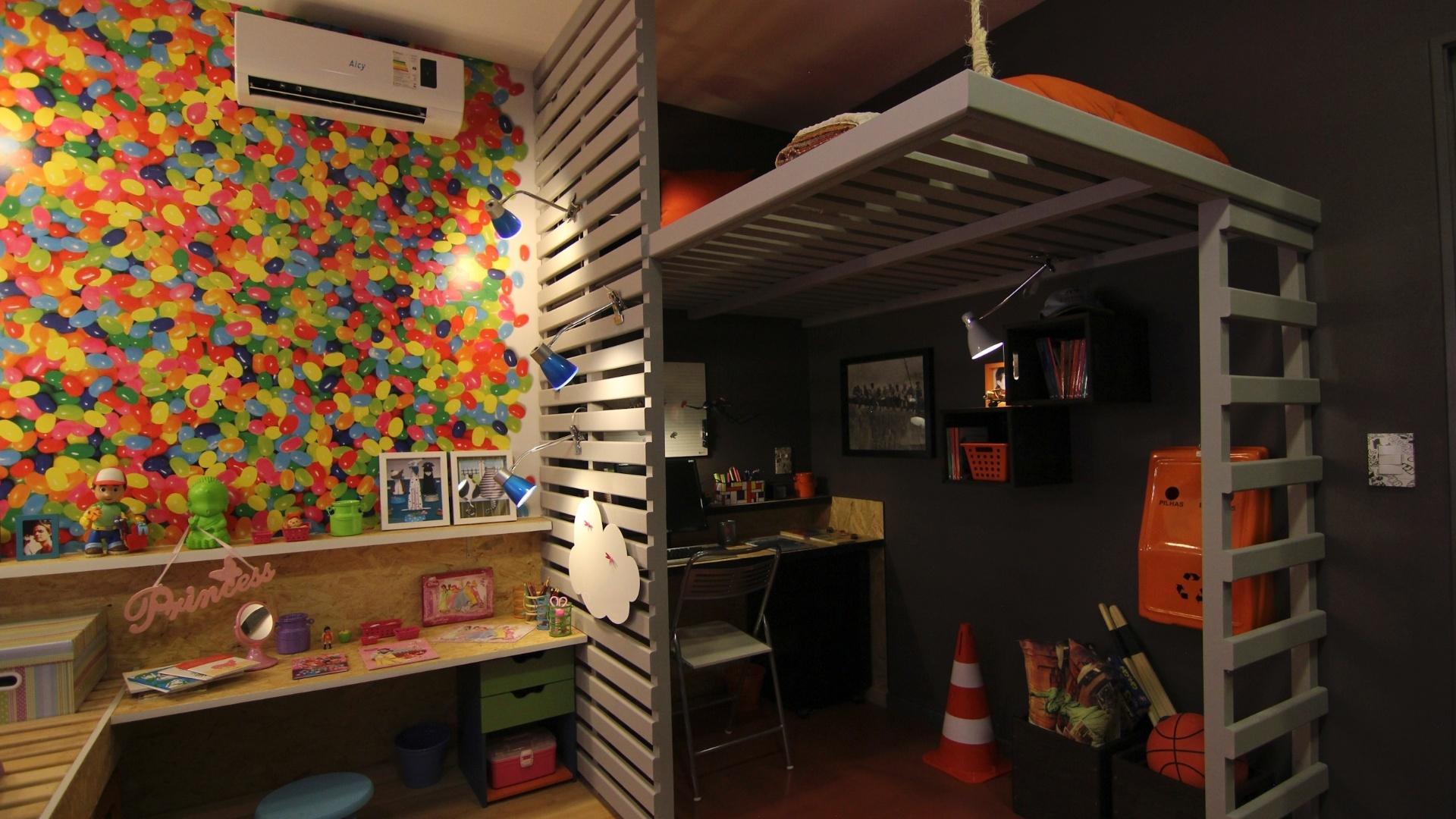 Ideias para decorar quarto pequeno for Decorar casa 45 m2