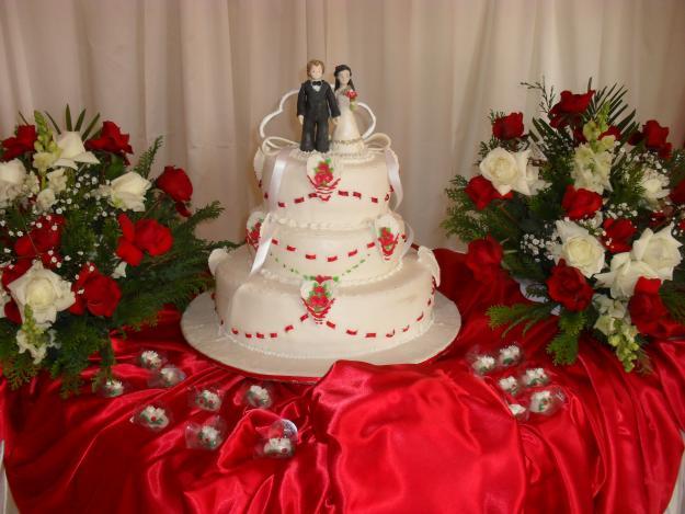 Decoração para Festa de Casamento com Flores 3