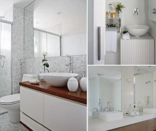 Como decorar um banheiro pequeno 2