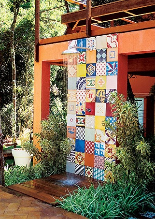 Patchwork na parede 2