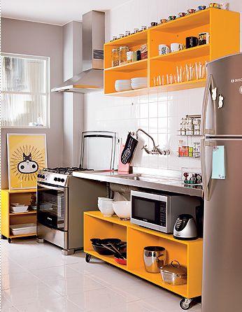 Cozinha sem armário 3