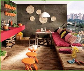 Como decorar Área externa 4