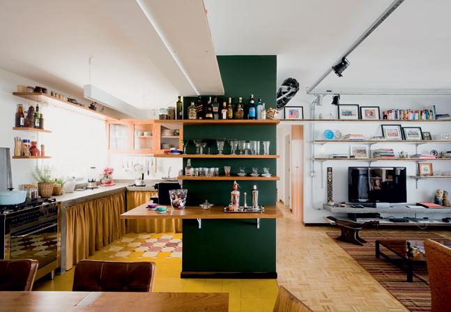 Cozinha sem armário 5