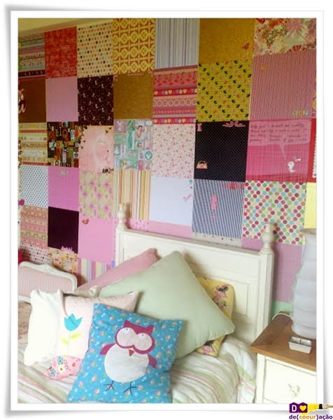 Patchwork na parede 5
