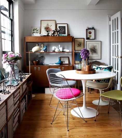 Cadeiras diferentes na cozinha 5