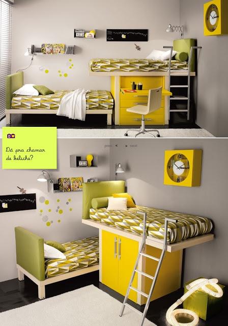 Ideias para decorar quarto pequeno 6