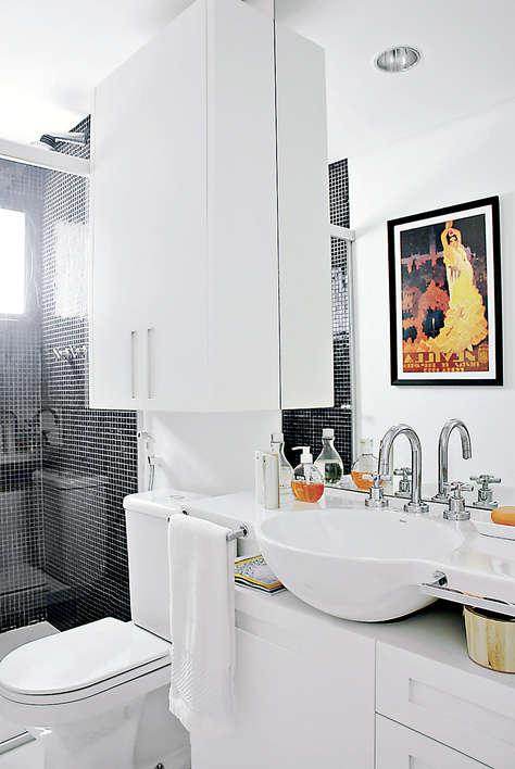 Como decorar um banheiro pequeno 3