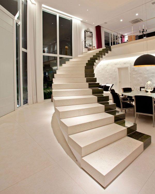 Escadas decoradas for Escaleras largas