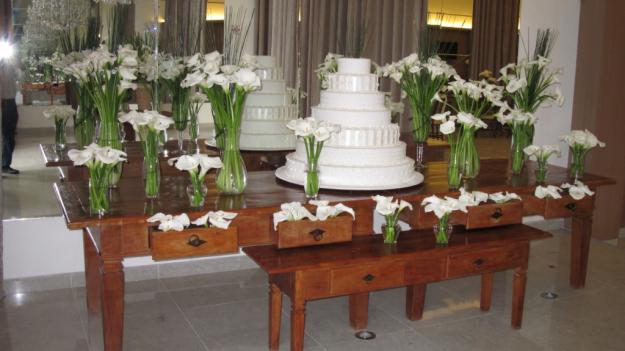 Decoração para Festa de Casamento com Flores 7