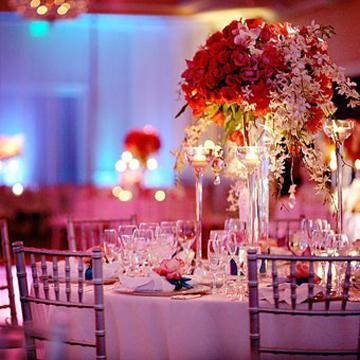 Decoração para Festa de Casamento com Flores 6