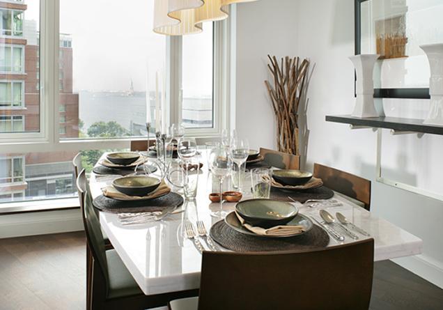mesa ideal para a sala de jantar