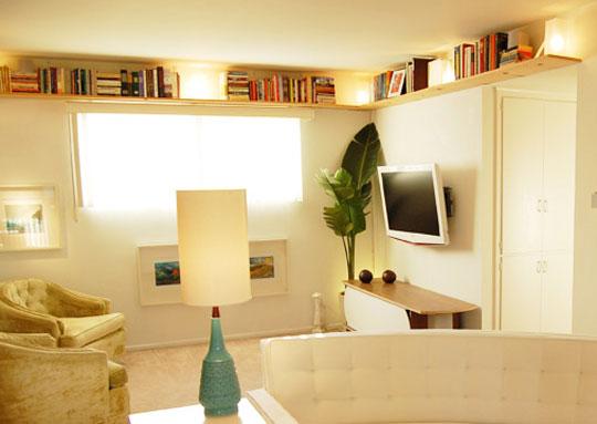 Pouco espaço na decoração, muito estilo 3