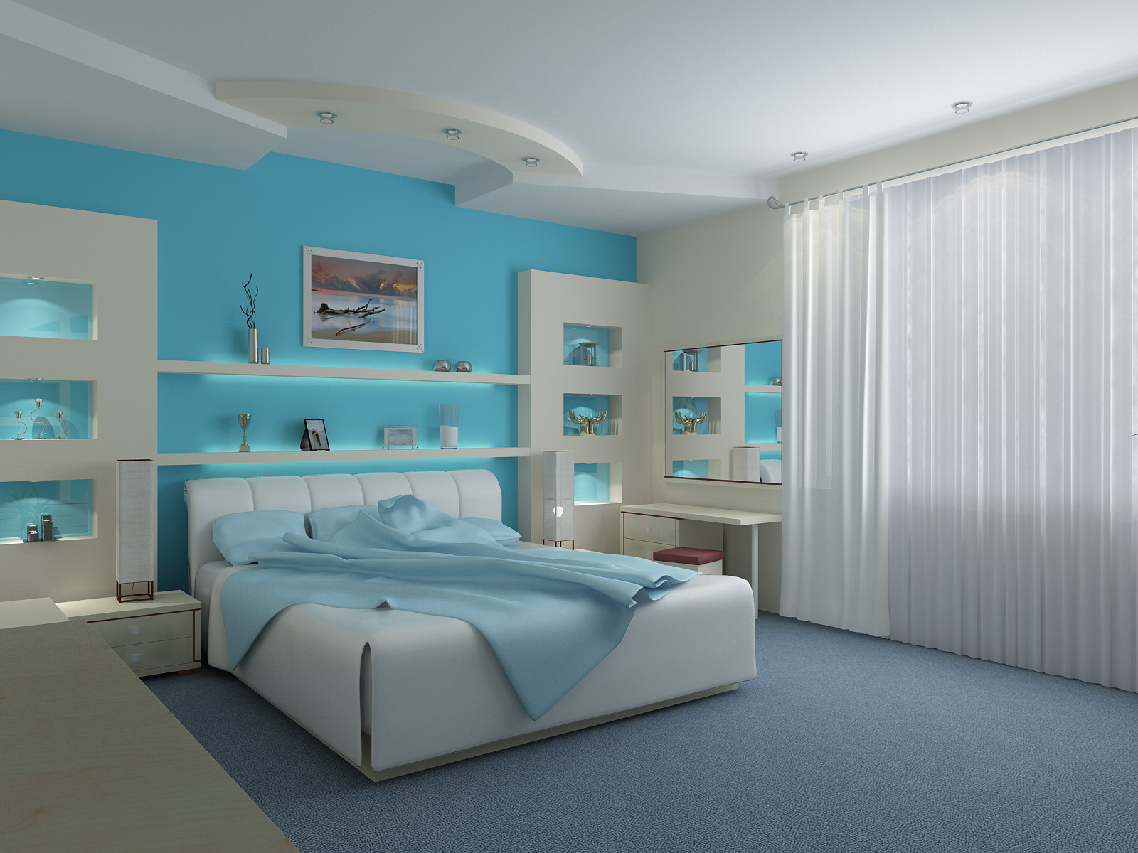Decorar com azul 5
