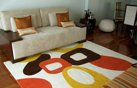 Decorar com tapete 7
