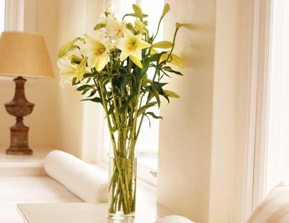 Flores na decoração 8