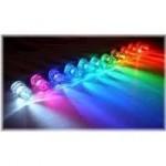 Luzes Coloridas na decoração 3