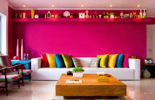 Inspiração de cores para sala de estar 6
