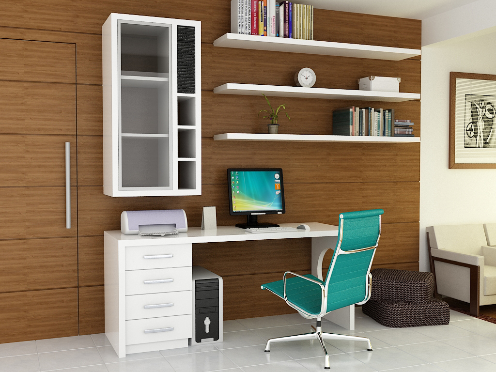 Home Office Design Decorating Ideas: Decorar Home Office