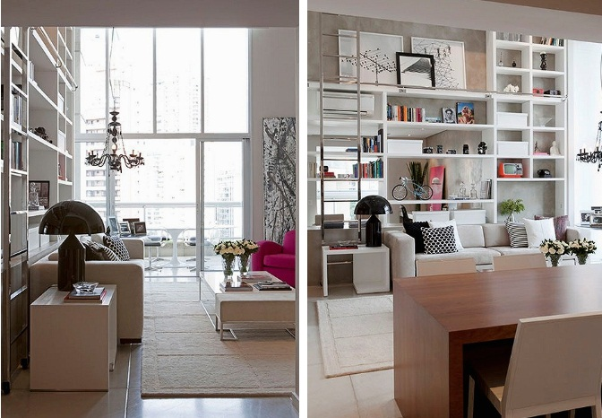 Enfeites para estante como decorar e o que usar for Estantes modernos