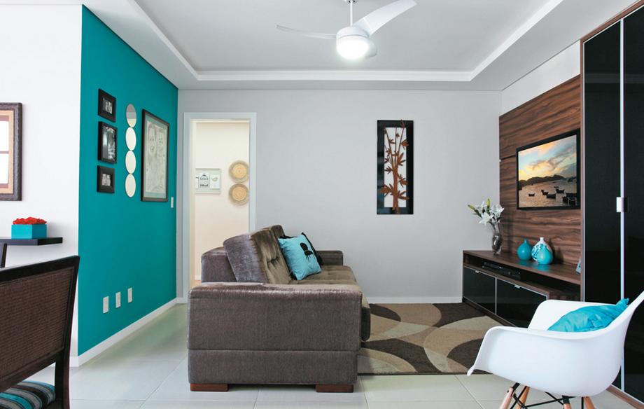Inspiração de cores para sala de estar 5