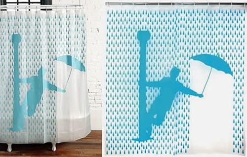 Cortinas para o banheiro 9