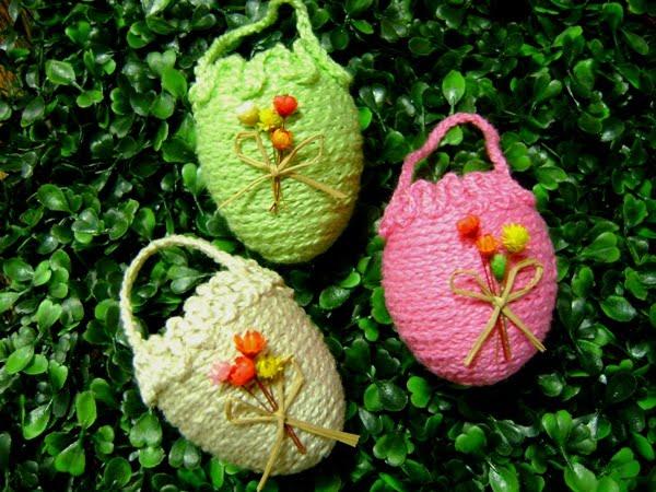Como decorar casquinhas de Páscoa 6