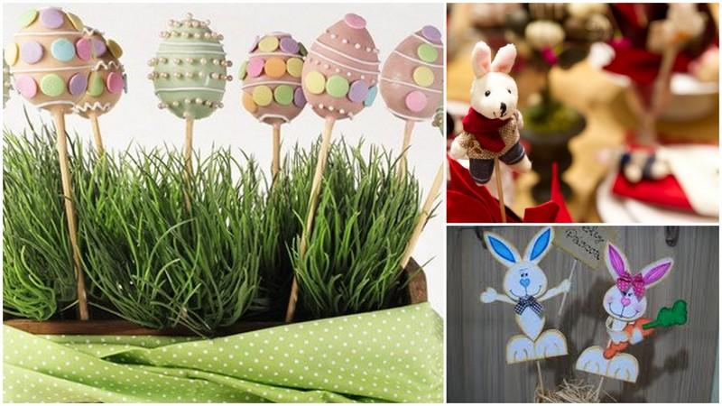 DECORA u00c7ÃO DE PÁSCOA -> Decoração De Pascoa Jardim
