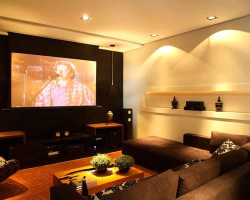 Sala de cinema em casa 5
