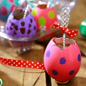 Como decorar casquinhas de Páscoa 9