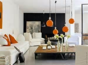 cor Tangerine na decoração