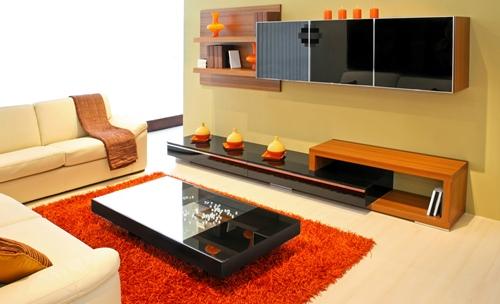 cor Tangerine na decoração 2