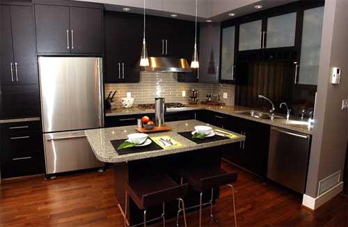 Como decorar cozinha escura 2