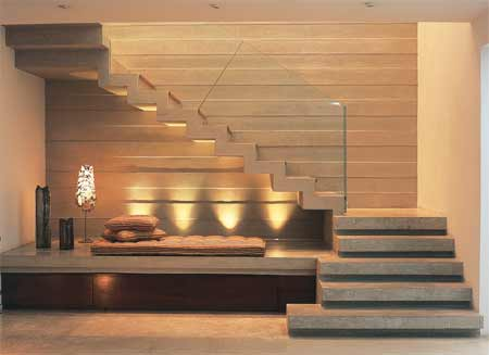 Ideias para decorar a escada 2