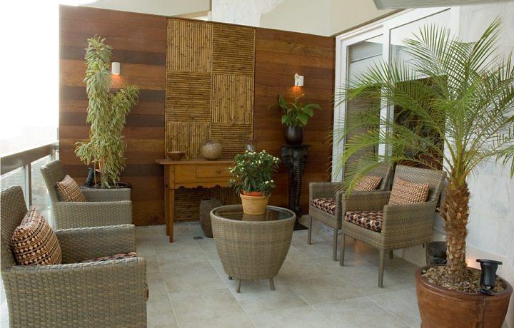 Objetos de bambu na decoração 3