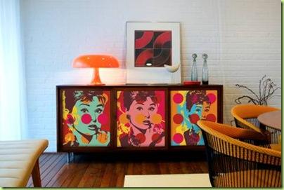 Decoração inspirada no Pop Art 5