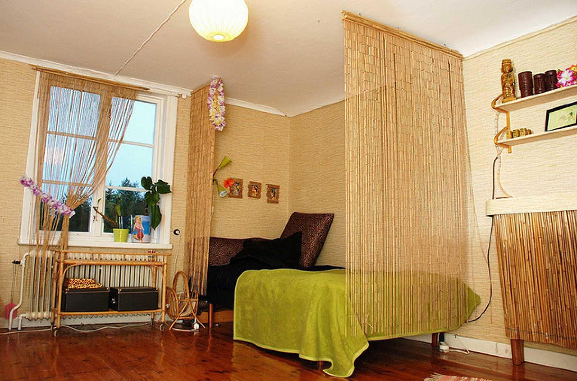 Objetos de bambu na decoração 7