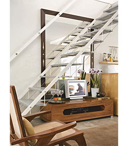 Ideias para decorar a escada 8