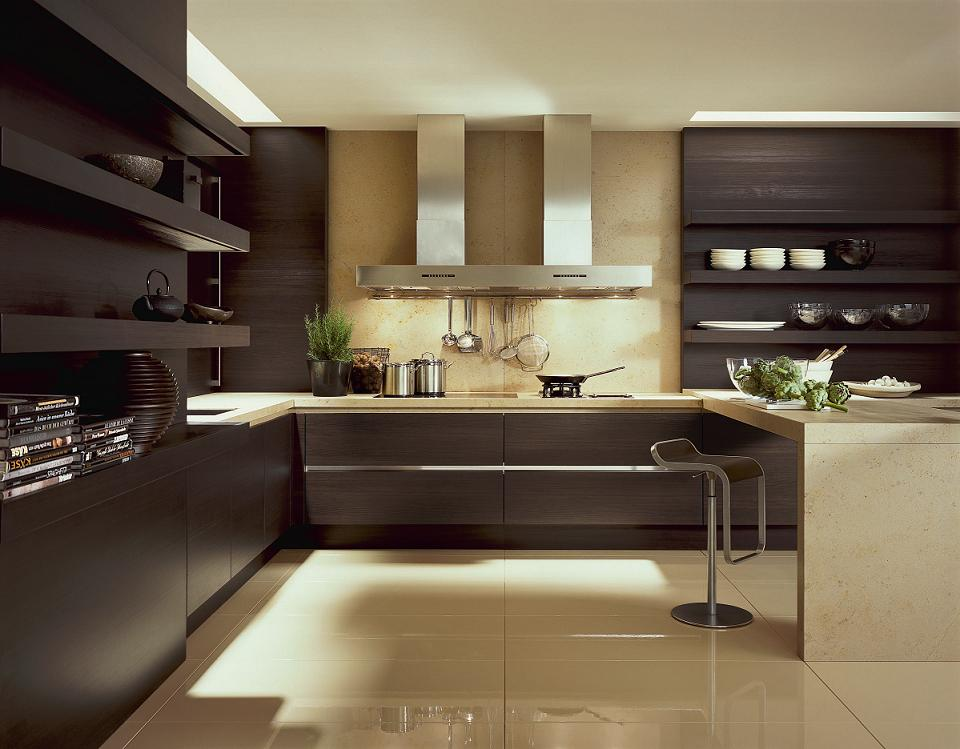 Como decorar cozinha escura Modern kitchen design ideas 2015