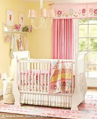 Cortina para o quarto de bebê 8