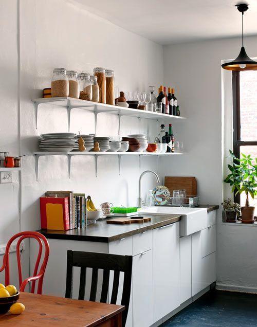 Prateleiras na cozinha 5