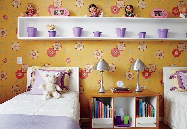Quarto de criança: papel de parede 2
