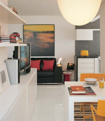 Apartamento de solteiro pequeno