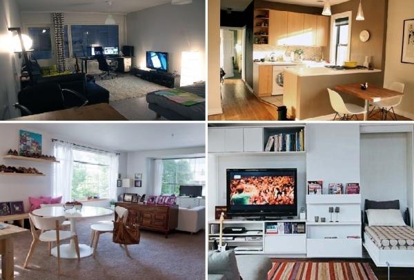 Decorar apartamento de solteiro