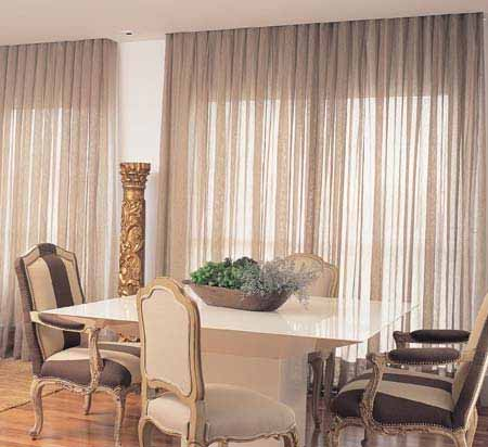 Cortinas para sala for Cortinas de living