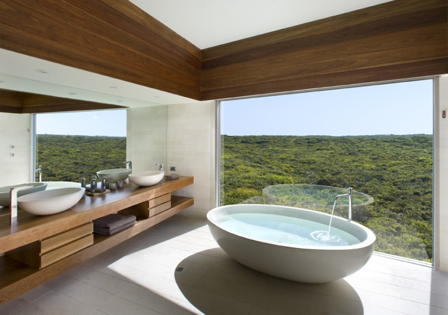 decorar o banheiro:Mountain View with Bathroom