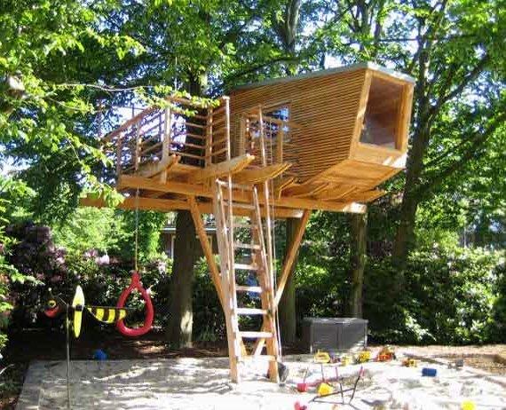como montar uma casa na árvore 7